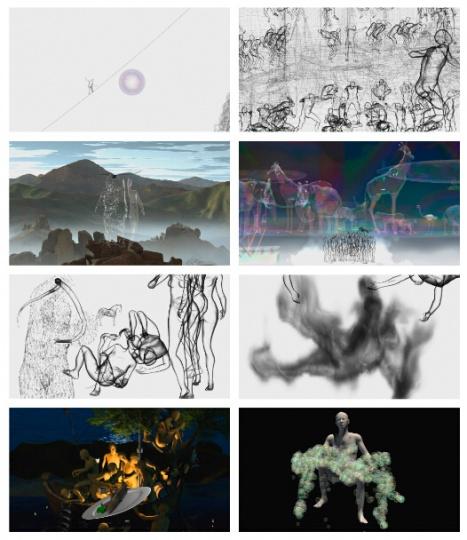 2014年光映现场 奥沙画廊参展艺术家缪晓春作品《Disillusion》 (图片由艺术家及画廊提供)