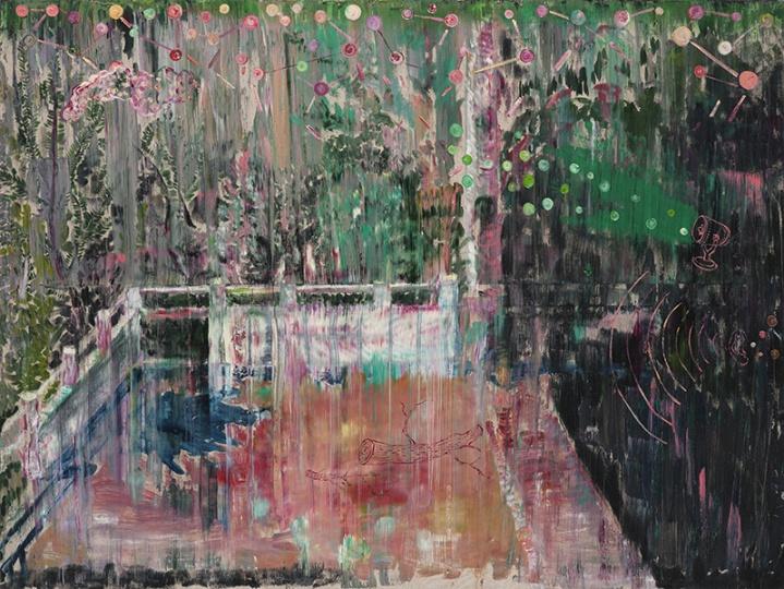 《天象》 布面油画 120×160cm2012年