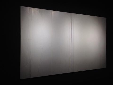刘野 《竹子的构图5号》 220×180cm×2 布面丙烯 2012