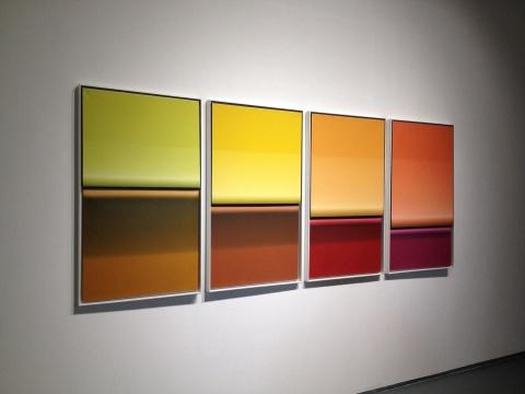 李平 《新物质系列》 120×70cm×4 布面油画 2014