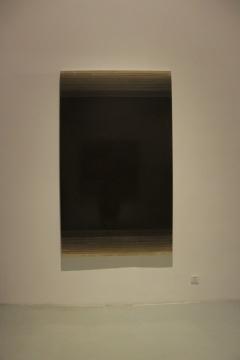 一层展厅 《灰尘150127》 200×120cm 布面灰尘 2015
