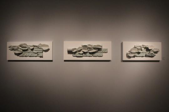 温·海格比 《云结构三联画:地平线》 2014