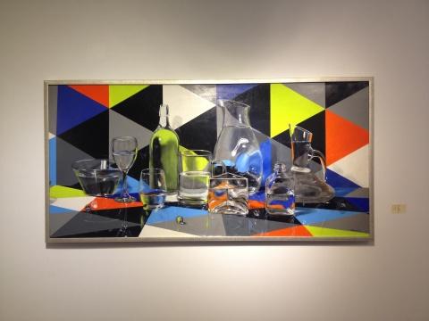 范晨生 《纯粹》 185×90cm 布面油画 2014