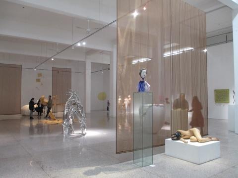 """""""物语——ZERO第二届当代女性雕塑展""""现场"""