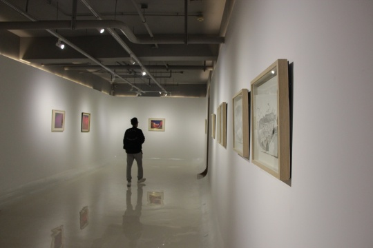 力利记艺术空间展览现场