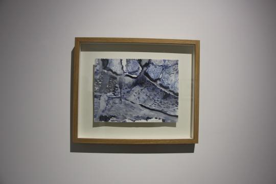 段正渠 《腊月》32×24cm纸本水彩 2014