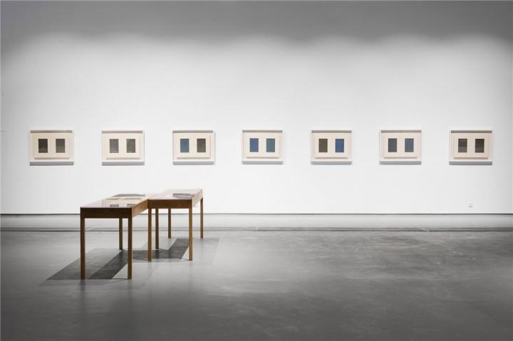 """2014年,郝量个展""""幽邃之地"""",蜂巢当代艺术中心展览现场"""