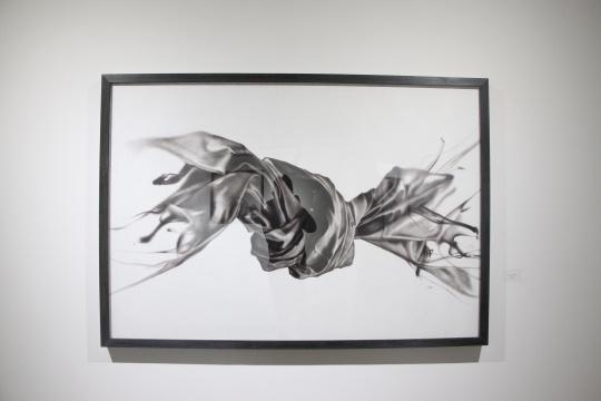 《沉浮 之二》 130×190cm 布面油画 2015