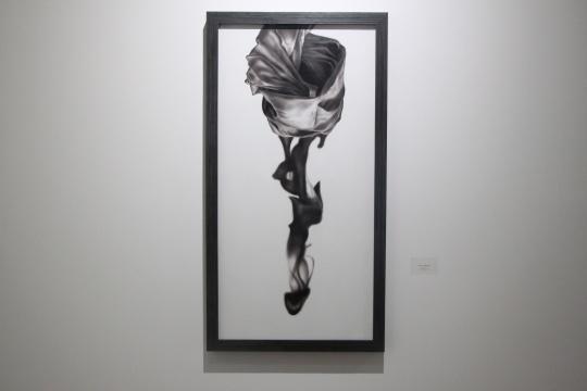 《沉浮 之七》 120×60cm 布面油画 2015