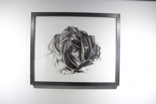 《沉浮 之八》 80×100cm 布面油画 2015