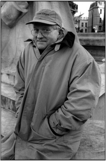 大卫·霍克尼,1999年,摄影:Martine Franck,©Martine Franck / Magnum Photos