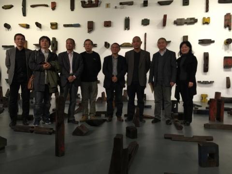 """傅中望个人简历中的第四次个展""""开物""""在798泉空间开幕"""