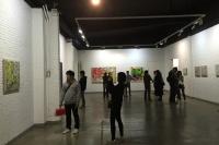 陈亮在桥舍汇报十余年抽象绘画探索,周爱民,陈亮