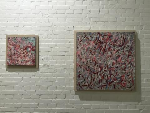 2012年油画作品《无题808》