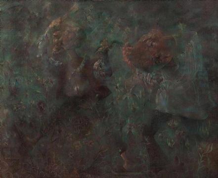 Lot 260 邱炯炯《学徒》170 x 210 cm 油彩画布 2006 估价:18-26万港元