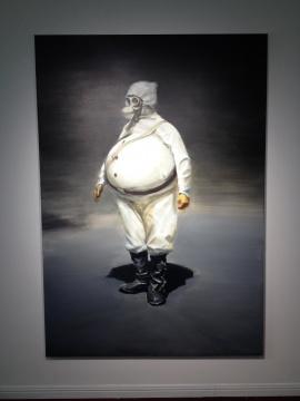 贾蔼力 《无题》 200×140cm 布面油画 2015