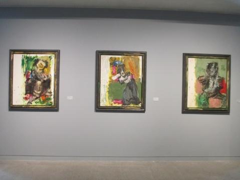 《仿戈雅——脚下的 绿色》、《仿戈雅——灰色的长裙》、《仿戈雅——红色与绿色之间》