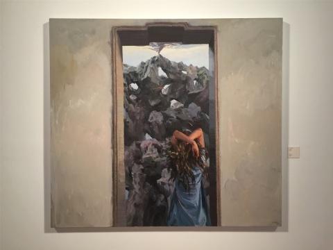 2015年作品《开门见山》,直面惨淡的人生