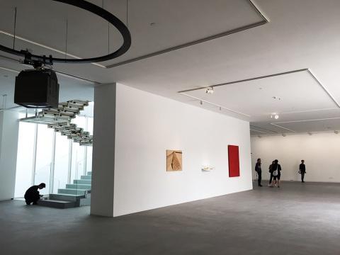 坐拥北京最繁华的三里屯,展览面积超过1300平米的今格空间