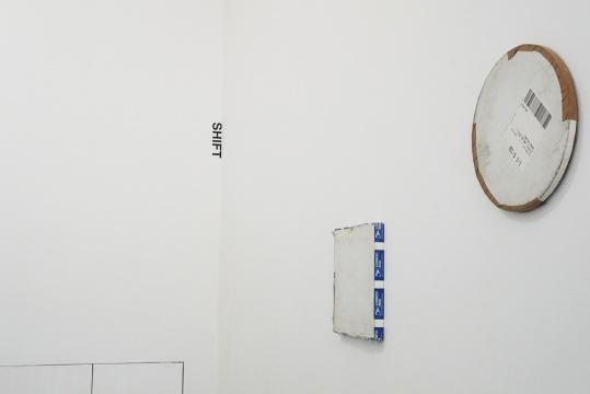 卡琳·桑德 《邮寄的绘画》 综合材料、画布 2006-2015