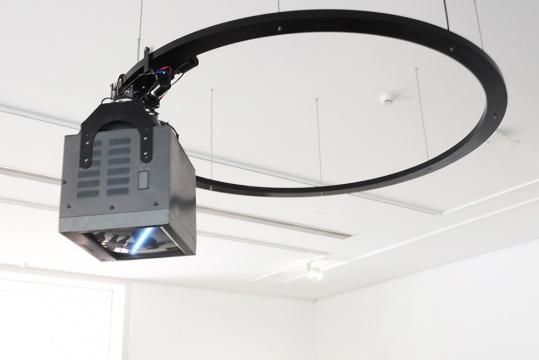 王郁洋 《光环》 媒体装置 2015
