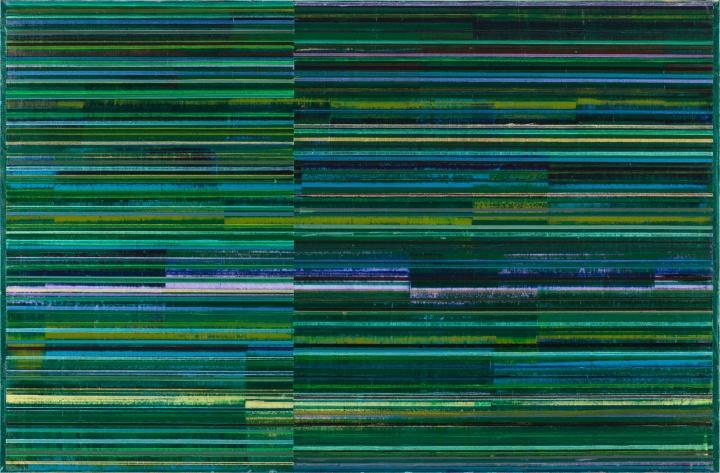 四季 立春 145X220cm 油画布面 2014
