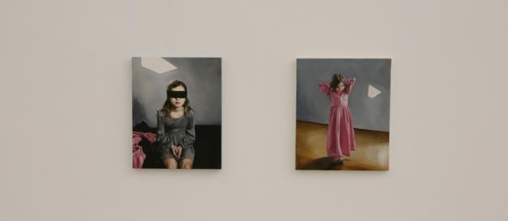 """2015年,""""阿德莉娅-儿童博物馆"""" 个展中的作品"""