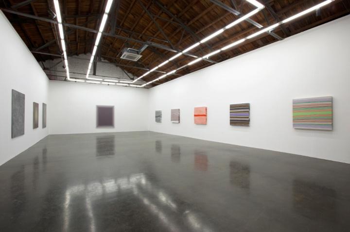 2008年,王光乐在北京公社的首次个展现场