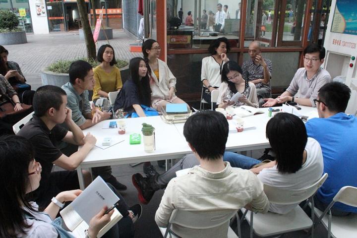 项目实验室讨论会现场 2013