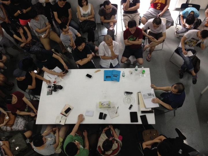 陈侗在黄边站的讲座   2014