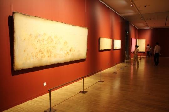美术馆共同主办,批评家朱青生策划的图片