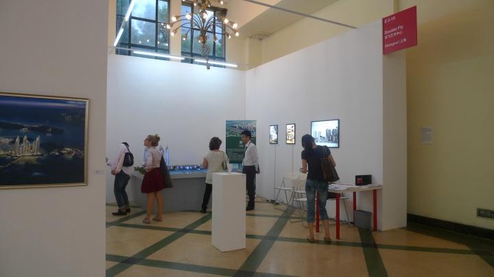 2011年,双飞艺术中心以虚假的售楼处项目参与上海艺博会