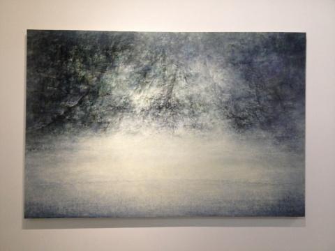 刘国夫 《敞 30》 200×300cm 布面油画 2013-2014