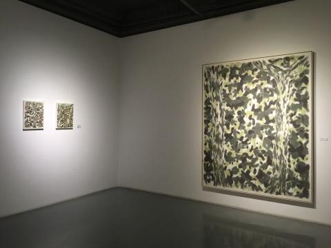 邬一名作品,该展览开幕当天其最新个展在香格纳北京空间举行