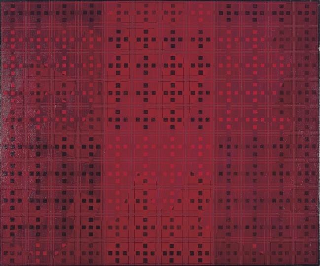 《十示89-5》50×60 cm布面丙烯1989