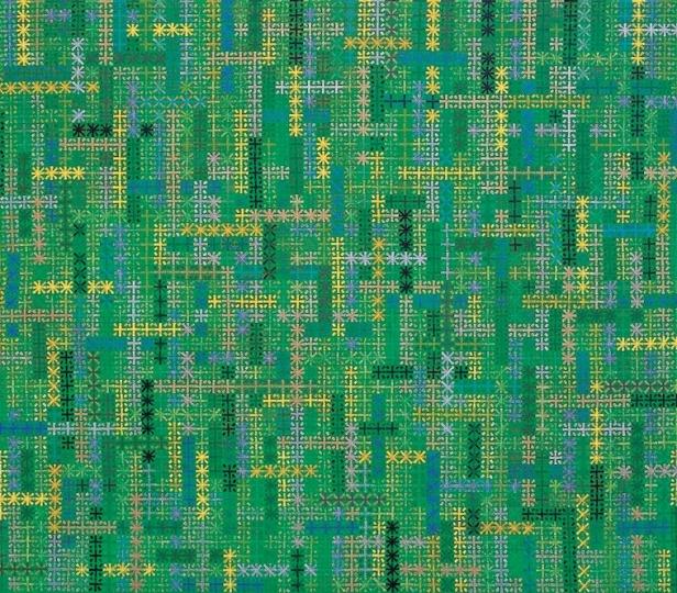 《十示2002-12》140×160 cm布面丙烯 2002