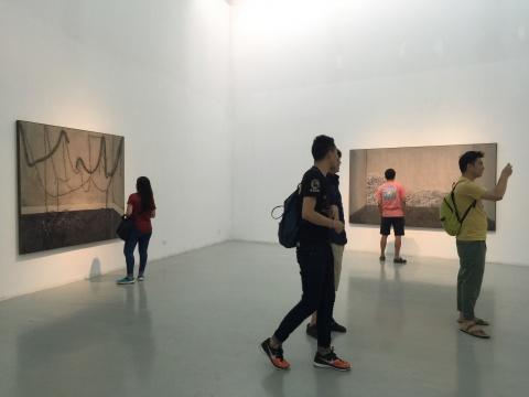 艾米李画廊展览现场