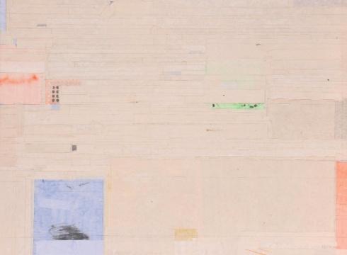 Lot 0259 梁铨《无题》 91×120cm 设色纸本 2012 估价:6-30万元