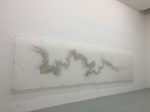 郝世明 《常2015》180×760cm绢本水墨 2015