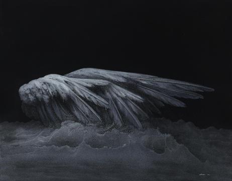 《鲲》 150×200cm 布面丙烯 2014年