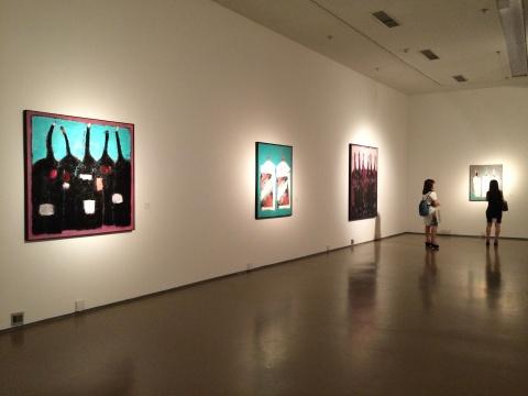 今日美术馆3号馆2层吴松展览现场