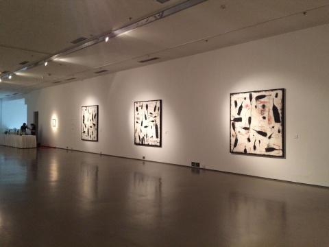 《狂欢》系列 180×480cm 油画2009-2010