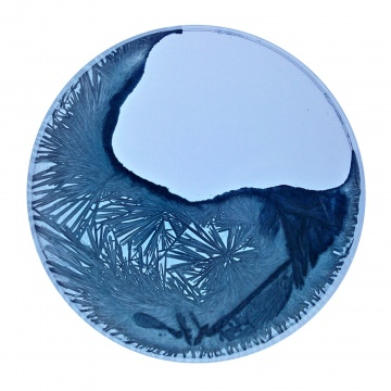 《晶格——北极冰》 摄影100×100cm 2015