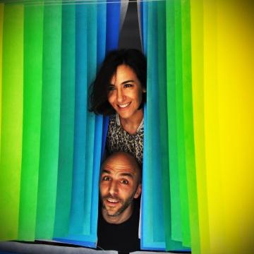 意大利艺术家,建筑师马吃辣和思凡诺 (Marcella Campa and Stefano Avesani)