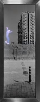 """六岛参展作品《全方位体验》,来自其""""城市崛起""""系列"""