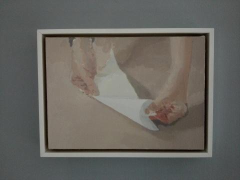 《cone》 30×42cm 布面油画 2012