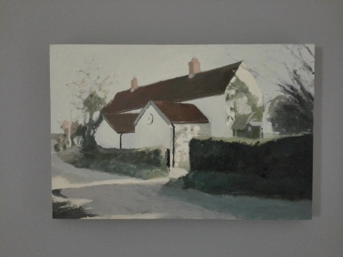 《故居》 60×90cm 布面油画 2010