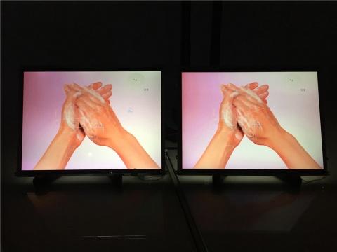 林科2015年数字视频《洗手》