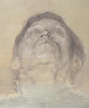 Lot464 毛焰 《朋友-鸿的肖像》 60.5×49.5cm 布面油彩 1999 估价:80-120万