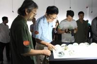 华彩初凝 中国学生玻璃作品展亮相秦皇岛,李鹏,李静